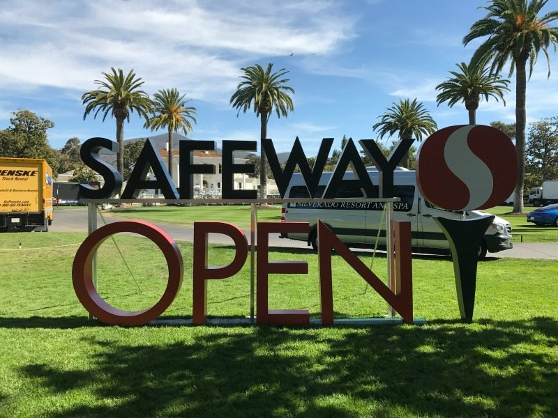 Image of the Entrance Sign for the 2016 Safeway Open at Silvardo Resort