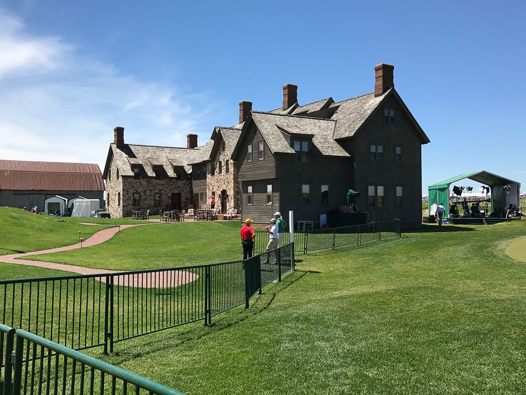 US Open Erin HIlls Clubhouse