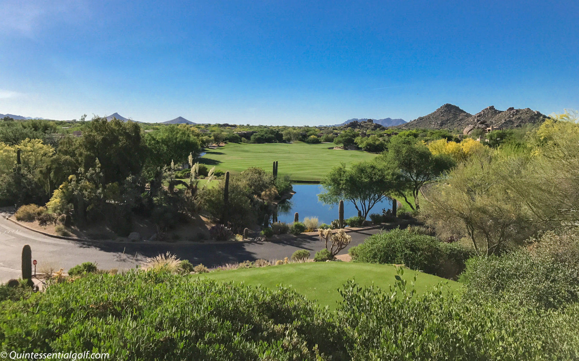 Sixth Hole Back Tees Boulders South Course, Scottsdale, AZ